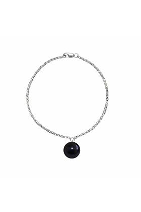 Sterling Silver Alba Black Pearl Bracelet