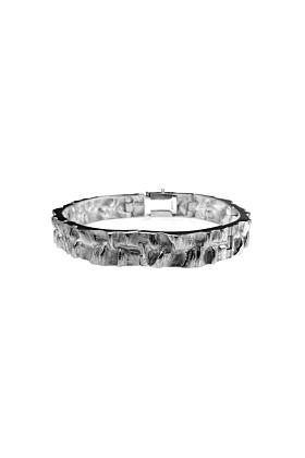Sterling Silver Sea In The Moonlight Bracelet