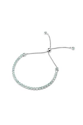 Sterling Silver Tamsui Blue Topaz Bracelet