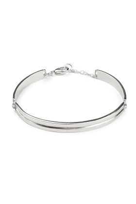 Sterling Silver HighWay Bangle Bracelet