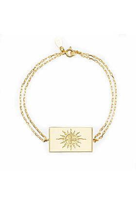 24kt Yellow Gold Plated Celestial Days - Sun Day Bracelet