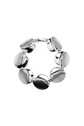 Sterling Silver Blue Dunes Bracelet