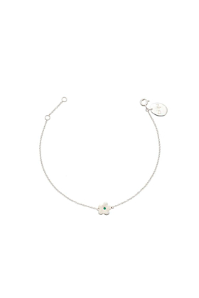 Emerald Daisy Bracelet