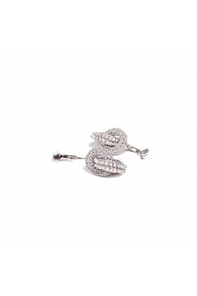 Goddess Double Link Earrings