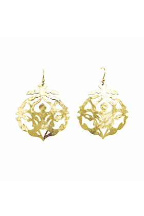 Gold Andalusia Drop Earrings