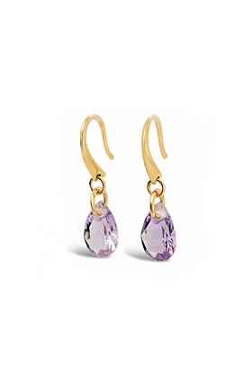 Yellow Gold Plated Dunne Earrings