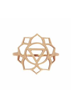 Rose Gold Manipura Ring | Tiny-Om