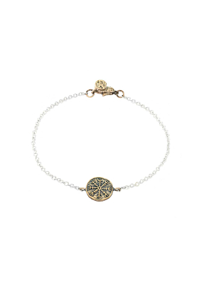Bronze Always Protected Mini-Medallion Bracelet