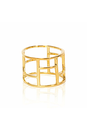 The Gold Frame Ring