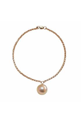 14kt Gold Alba Pink & Gold Pearl Bracelet