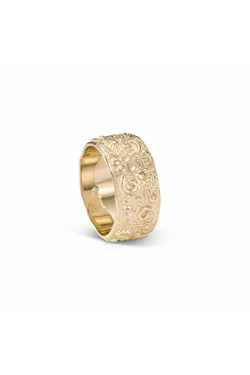 14kt Yellow Gold Circle Of Joy Ring
