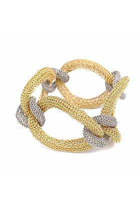 Goddess coloured Link Twist Bracelet