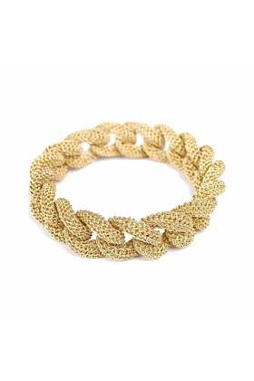 Goddess Sun Link Twist Bracelet