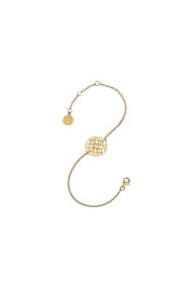 The Senses of Love Yellow Gold Bracelet