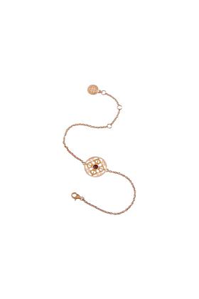 The Anchor of Strength Rose Gold Bracelet