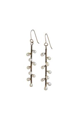 Sterling Silver Daphne Earrings