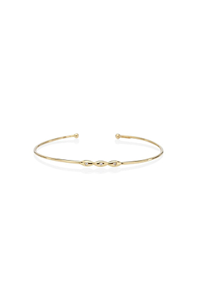 Trilogy Bangle Yellow Bracelet