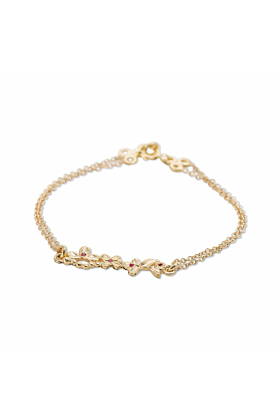 14kt Yellow Gold Durga Bracelet