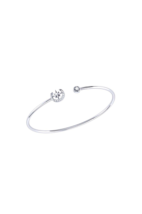 Sterling Silver North Star Crescent Cuff