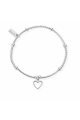 Cute Mini Open Heart Bracelet