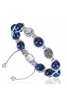 Kyanite Macrame Bracelet