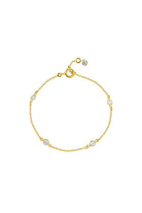 Yellow Gold Plated Sofia Bracelet