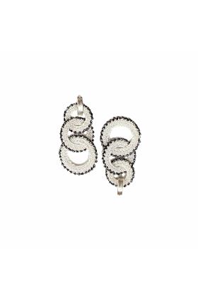 Goddess Glacier Link Earrings