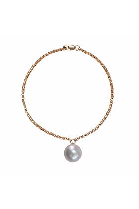14kt Gold Alba Grey Pearl Bracelet