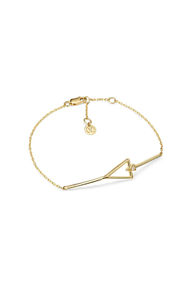 Yellow Gold & Diamond Devotion Bracelet