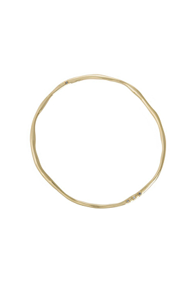 Yellow Gold Traditional Twist Bangle