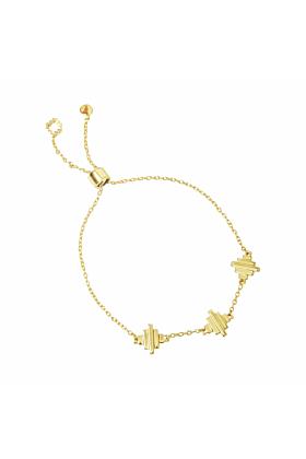 18kt Gold Vermeil Baori Trinity Bracelet