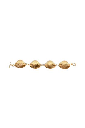 Yellow Gold Plated Oceania Ark Bracelet