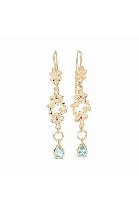 14kt Yellow Gold Desta Earrings