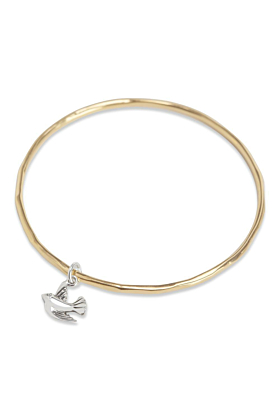 Bird Bangle Gold