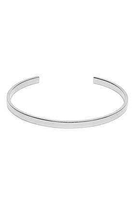 Sterling Silver Elegant Cuff Bracelet