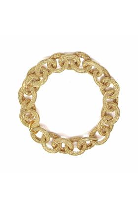 Goddess Sun Link 14kt Gold Filled Necklace