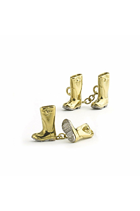 Wellington Boot Cufflinks