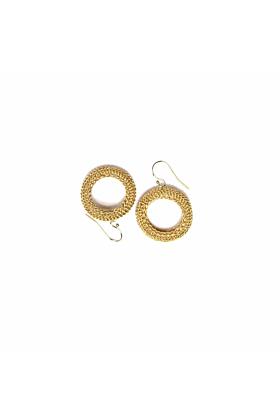 Goddess Open Link Earrings