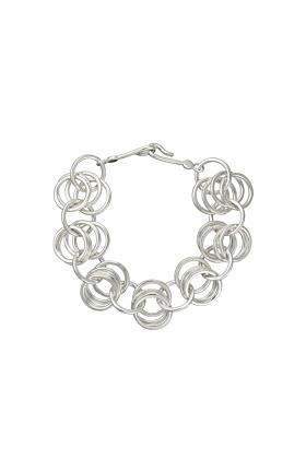 Sterling Silver Embrace Bracelet