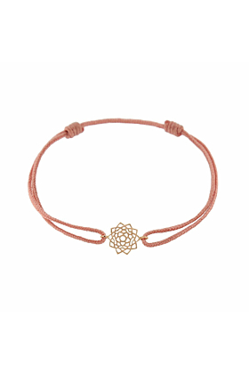 Rose Gold & Thread Sahasrara Bracelet | Tiny-Om