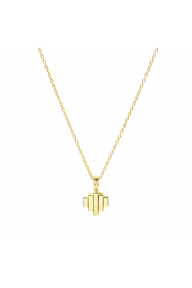 18kt Yellow Gold Vermeil Baori One Pendant Necklace