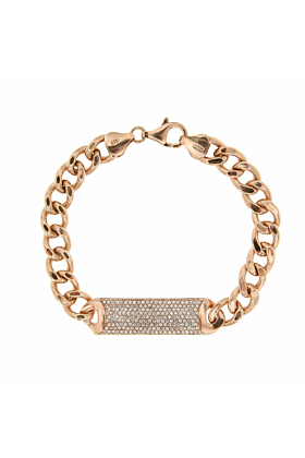 Rose Gold Plated Essential ID Bracelet