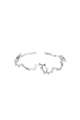 Sterling Silver Supernova Bracelet
