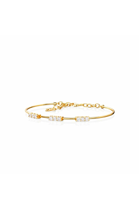 18kt Yellow Gold Mode Bangle