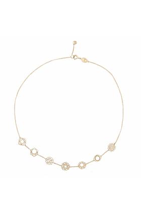 Rose Gold Seven Chakras Necklace | Tiny-Om