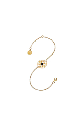 The Grounds of Freedom Yellow Gold Bracelet