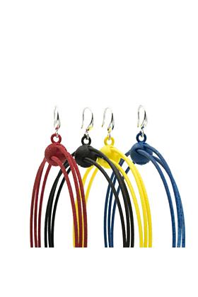 3D Printed & Sterling Silver Hoop Earrings