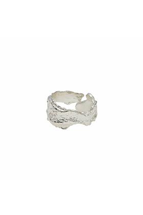Silver Bark Ring