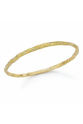 Banyan Tree Bangle 18kt Gold With Diamonds