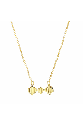 Baori Trinity Necklace 18ct Gold Vermeil